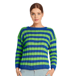 Anleitung 209/1, Pullover aus Recycle & Cotone von Junghans-Wolle