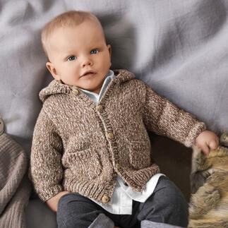Anleitung 255/1, Baby-Kapuzenjacke aus Phil Alpaga Coton von phildar