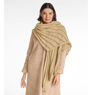 Anleitung 267/1, Schultertuch aus Wool-Cotton von Junghans-Wolle