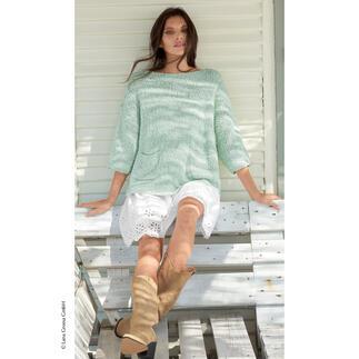 Anleitung 309/1, Pullover aus Pluma von Katia