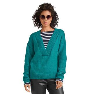 Anleitung 331/1, Pullover aus Melina von Junghans-Wolle