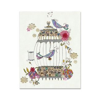 Stickbild nach Kim Anderson - Love Birds.