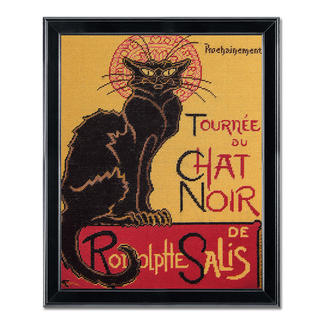 Gobelinbild - Le Chat Noir nach Henri de Toulouse-Lautrec
