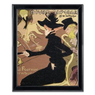 Gobelinbild - Aristide Bruant nach Henri de Toulouse-Lautrec