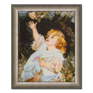 Gobelinbild - Out Of Reach nach Frederick Morgan Meisterwerke großer Künstler als Gobelinbild.