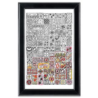 Stickbild Zenbroidery - Cubist