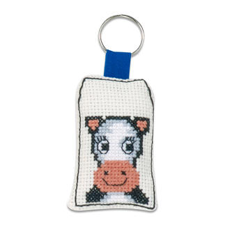 Tierische Schlüsselanhänger - Kuh