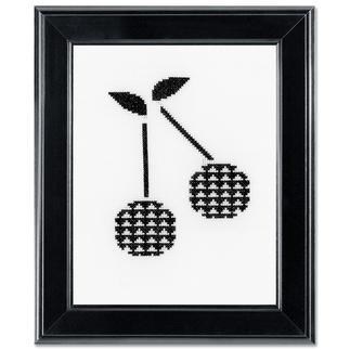Stickbild - Kirschen Modern Stitching -