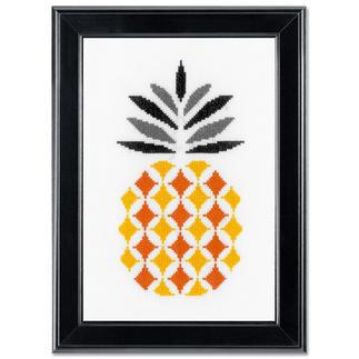 Stickbild - Ananas Modern Stitching -
