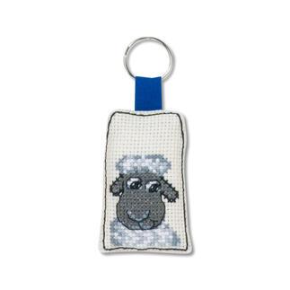 Tierische Schlüsselanhänger - Schaf