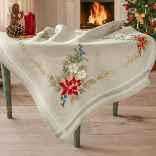 Klassische Tischdecke - Weihnachtsstern