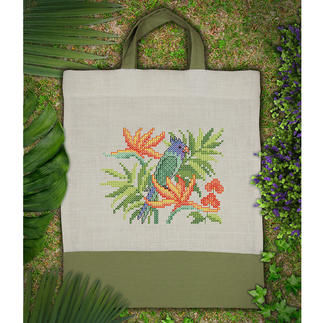 Tasche - Tropical Bird Tasche, Tropical Bird – exotisches Flair für unterwegs.