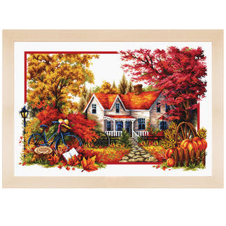 Stickbild - Der Herbst beginnt