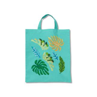 Trendige Baumwolltasche - Palmblätter Urban Jungle – Dschungelfeeling für Ihr Zuhause