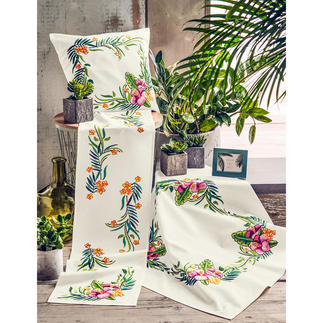 Ensemble - Tropical Flower Urban Jungle – Dschungelfeeling für Ihr Zuhause