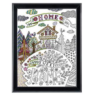 Stickbild Zenbroidery - Home Sweet Home II Zenbroidery – Die Kunst des freien Stickens