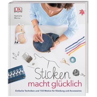 Buch - Sticken macht glücklich Kreative Geschenk-Idee