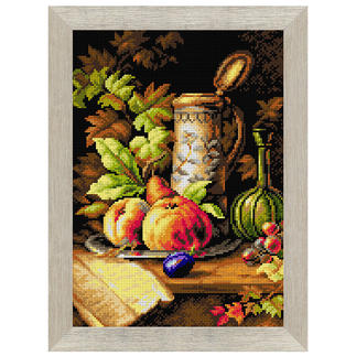 Gobelinbild - Früchte-Stillleben Klassisches Gobelinbild