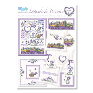 Kreuzstich-Zählmuster-Vorlagen - Lavande de Provence