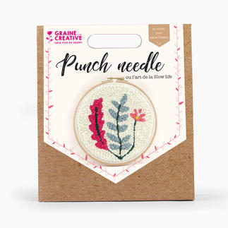 Punch-Needle-Kit - Pflanzen