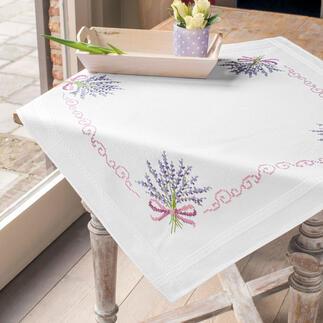 Baumwoll-Tischwäsche - Lavendel