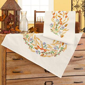 Tischwäsche - Herbstkranz