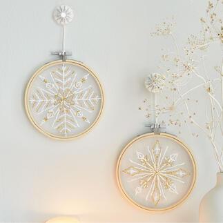 2 Stickbilder im Set - Ornamente