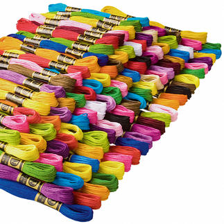 Qualitäts-Stickgarne, Jumbo Stickgarnpaket Qualitäts-Stickgarne zum supergünstigen Preis.