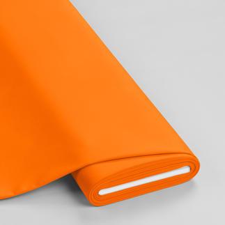 Meterware - Basic-Stoffe, Orange Basic-Stoffe aus Baumwolle