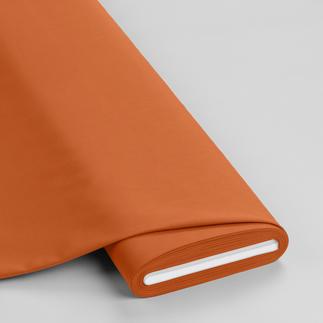 Meterware - Basic-Stoffe, Orangebraun Basic-Stoffe aus Baumwolle