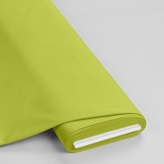 Meterware - Basic-Stoffe, Lime Basic-Stoffe aus Baumwolle