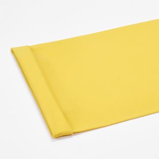 Meterware - Bündchenstoff, Gelb Bündchenstoff als Schlauchware