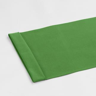 Meterware - Bündchenstoff, Grün Bündchenstoff als Schlauchware