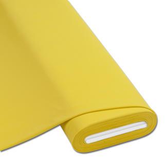 Meterware Baumwoll-Jersey - Uni, Gelb Baumwoll-Jersey – Der ideale Stoff für bequeme Shirts, Kleider und Kindermode