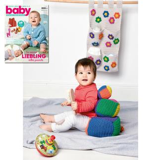 Wandbehang und Würfel aus Baby Maschenmode 39/19