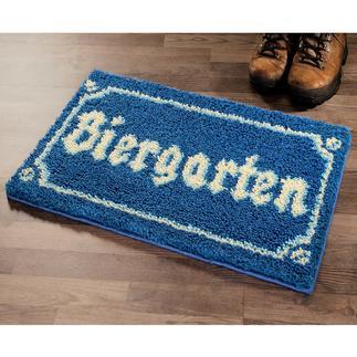 Fußmatte - Biergarten
