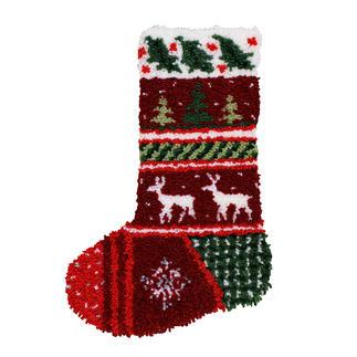 Nikolaus-Stiefel Knüpfideen zur Weihnachtszeit.