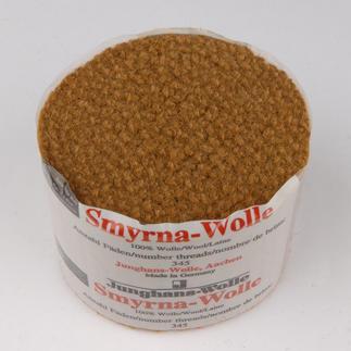 Smyrna-Knüpfpack, 50 g, Bernstein Für Ihre eigenen Entwürfe: hochwertige Junghans-Garne zum Knüpfen Für Ihre eigenen Entwürfe: hochwertige Junghans-Garne zum Knüpfen