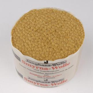 Smyrna-Knüpfpack, 50 g, Bronze Für Ihre eigenen Entwürfe: hochwertige Junghans-Garne zum Knüpfen Für Ihre eigenen Entwürfe: hochwertige Junghans-Garne zum Knüpfen