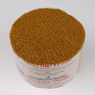 Smyrna-Knüpfpack, 50 g, Goldtopas Für Ihre eigenen Entwürfe: hochwertige Junghans-Garne zum Knüpfen Für Ihre eigenen Entwürfe: hochwertige Junghans-Garne zum Knüpfen