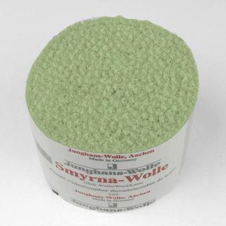 Smyrna-Knüpfpack, 50 g, Reseda Für Ihre eigenen Entwürfe: hochwertige Junghans-Garne zum Knüpfen Für Ihre eigenen Entwürfe: hochwertige Junghans-Garne zum Knüpfen