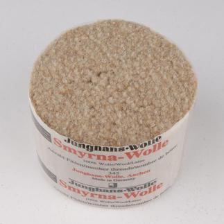Smyrna-Knüpfpack, 50 g, Travertin (Berber) Für Ihre eigenen Entwürfe: hochwertige Junghans-Garne zum Knüpfen Für Ihre eigenen Entwürfe: hochwertige Junghans-Garne zum Knüpfen