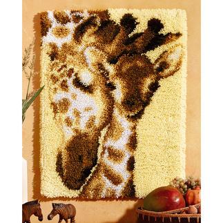 Wandbehang - Giraffen