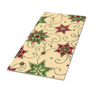Teppich - Weihnacht Teppich mit weihnachtlichen Motiven