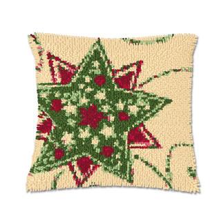 Knüpfkissen - Weihnacht 1