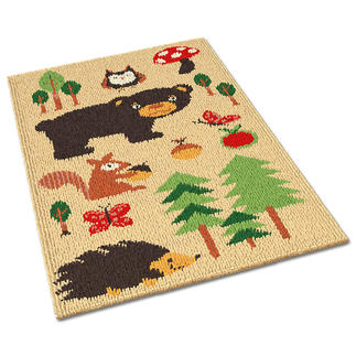 Teppich - Waldtiere