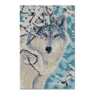 Wandbehang - Polarwolf Es war einmal...