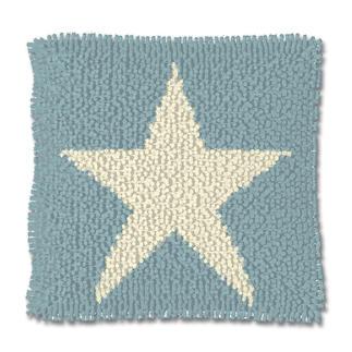 Knüpfkissen - White Star Stars and Stripes