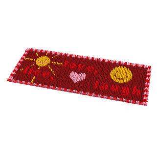 Fußmatte - Live, Love, Laugh Pflegeleichte Fußmatten.