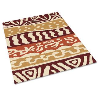 Kreuzstichteppich - Maori Stickteppiche - die robusten Prachtstücke